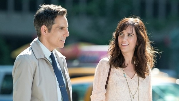 Ben Stiller and Kristen Wiig in 'Walter Mitty'