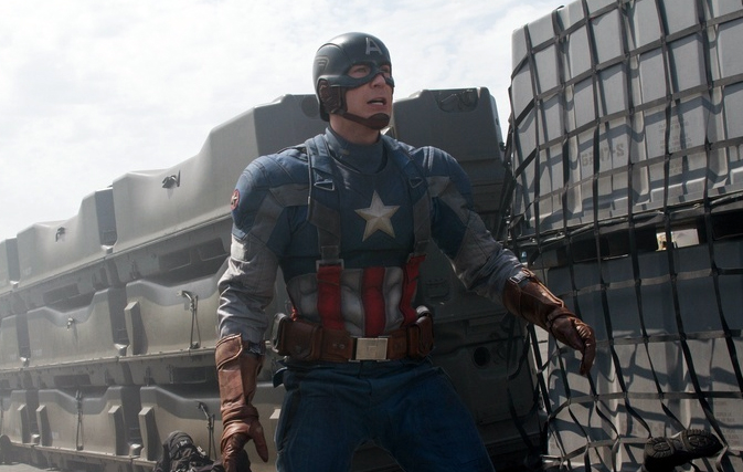 Chris Evans in 'Captain America The Winter Solider' (photo Disney-Marvel)