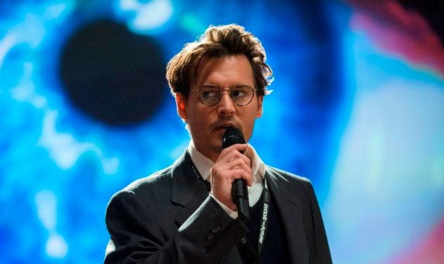 Johnny Depp in 'Transcendence' (photo -- Warner Bros)
