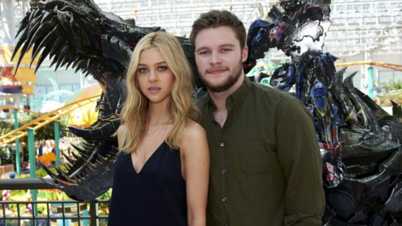 Transformers Age of Extinction stars Nicola Peltz and Jack Reynor (photo Paramount Pictures Tony Nelson)