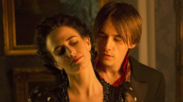 Eva Green and Reeve Carney in 'Penny Dreadful' (photo -- Showtime)
