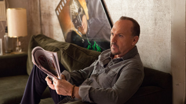 "Michael Keaton in ""Birdman"" (photo: Fox Searchlight Pictures)."