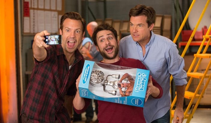 Jason Sudeikis, Charlie Day and Jason Bateman in 'Horrible Bosses 2' (photo -- Warner Bros)