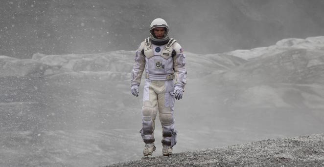 Matthew McConaughey in a scene from 'Interstellar' (photo -- Paramount Pictures)
