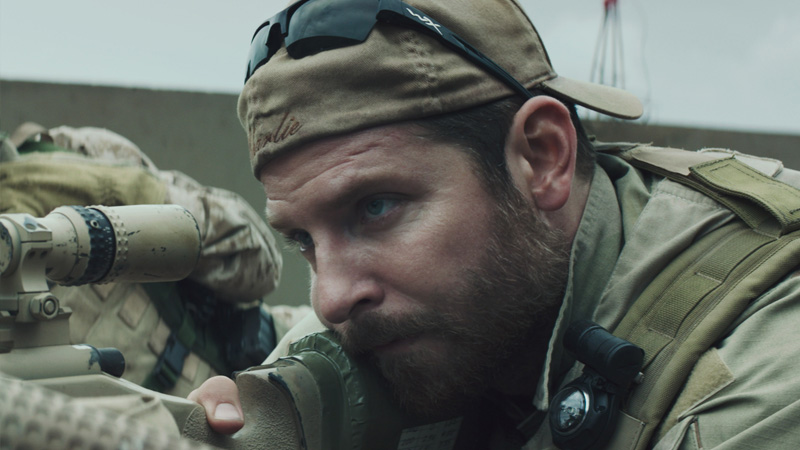 Bradley Cooper in 'American Sniper' (photo Warner Bros)