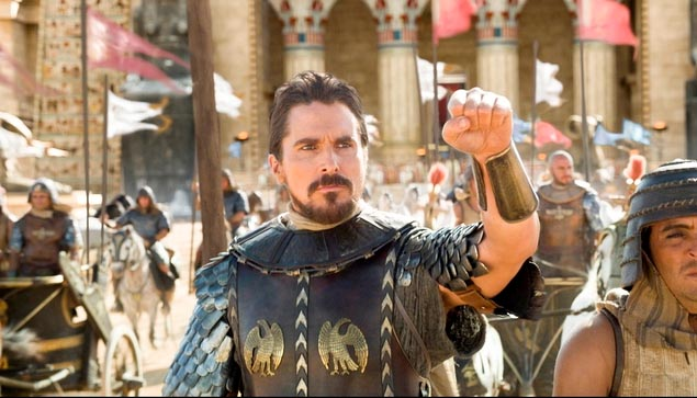 Christian Bale in 'Exodus Gods and Kings'