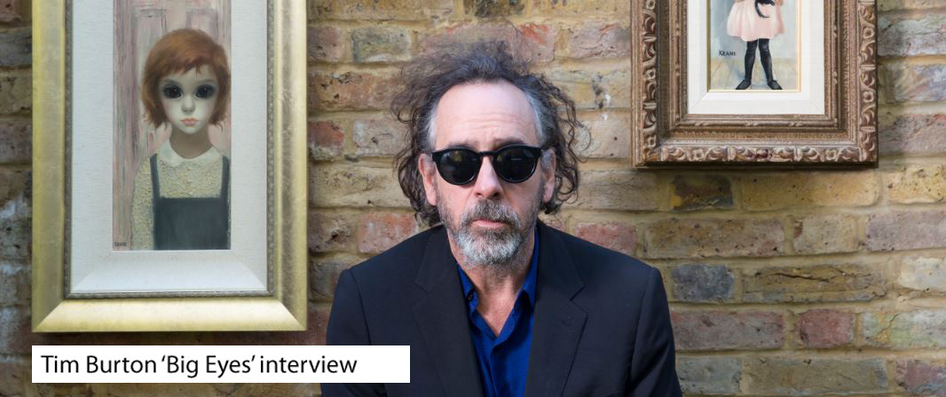 Tim Burton Big Eyes interview photo