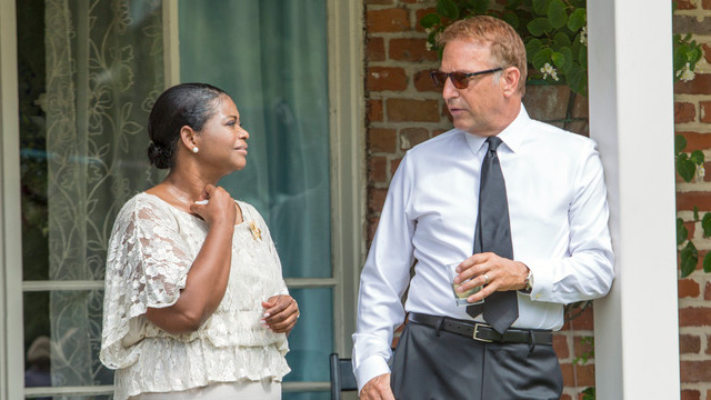 Octavia Spencer and Kevin Costner in 'Black or White'