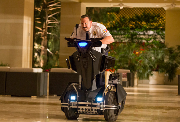 Kevin James in Mall Cop 2