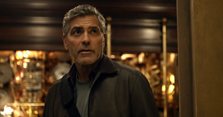George Clooney in 'Tomorrowland' (photo - Disney)