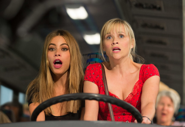 Sofia Vergara and Reese Witherspoon in 'Hot Pursuit'