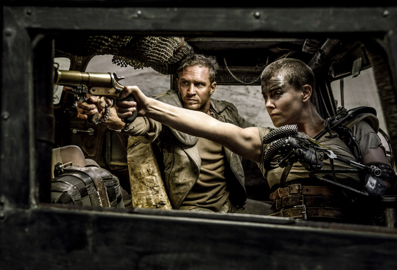 Tom Hardy and Charlize Theron in 'Mad Max Fury Road' (Warner Bros)
