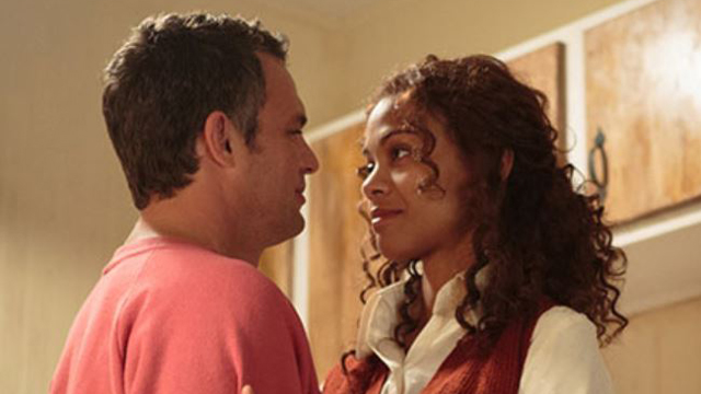 Mark Ruffalo and Zoe Saldana in 'Infinitely Polar Bear' (photo -- Sony Pictures Classics)