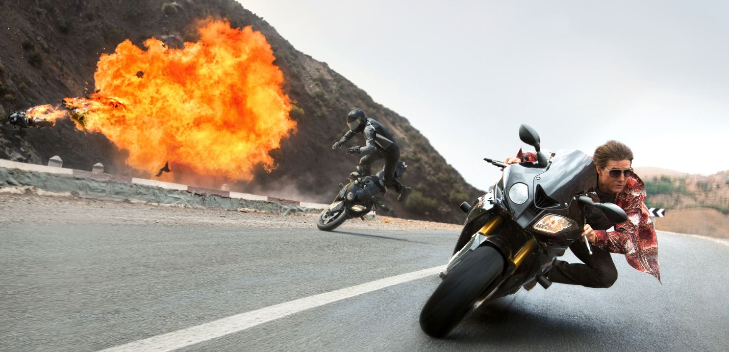 Tom Cruise in 'Mission: Impossible - Rogue Nation' (photo - Paramount Pictures)