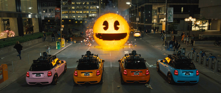 Pixels (photo -- Sony Pictures)