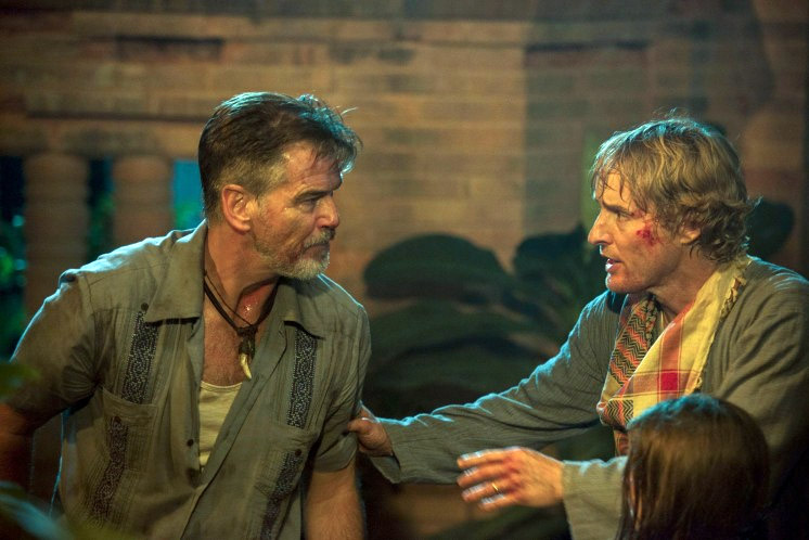 Pierce Brosnan and Owen Wilson in 'No Escape' (photo - The Weinstein Company)