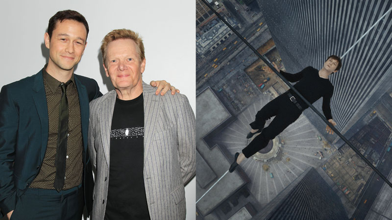 'The Walk' -- Joseph Gordon-Levitt and Philippe Petit (photo: Sony Pictures)