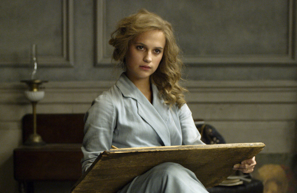 "Alicia Vikander in ""The Danish Girl"" (photo: Focus Features)"
