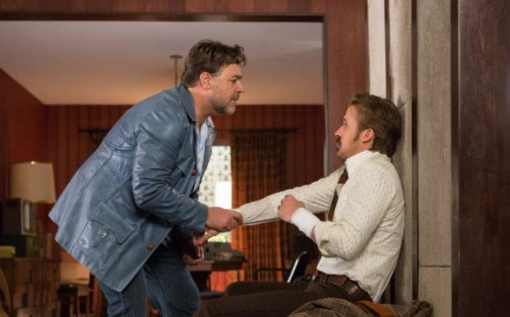 Russell Crowe and Ryan Gosling in 'The Nice Guys' (Warner Bros.))
