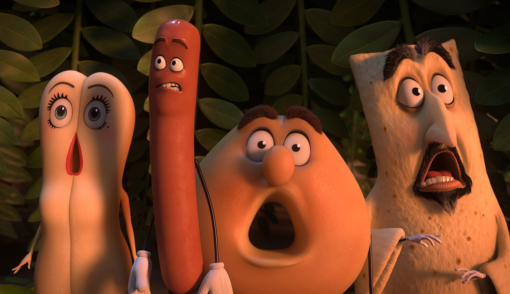 Sausage Party Wiig, Rogen, Norton, Krumholz