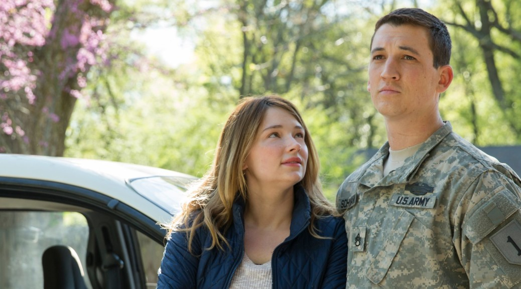 Miles Teller and Haley Bennett in Thank You For Your Service (photo Universal Pictures)