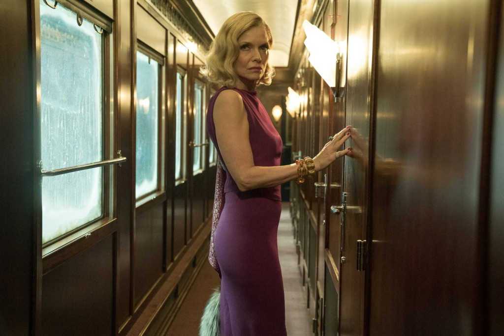 Michelle Pfeiffer in 'Murder on the Orient Express
