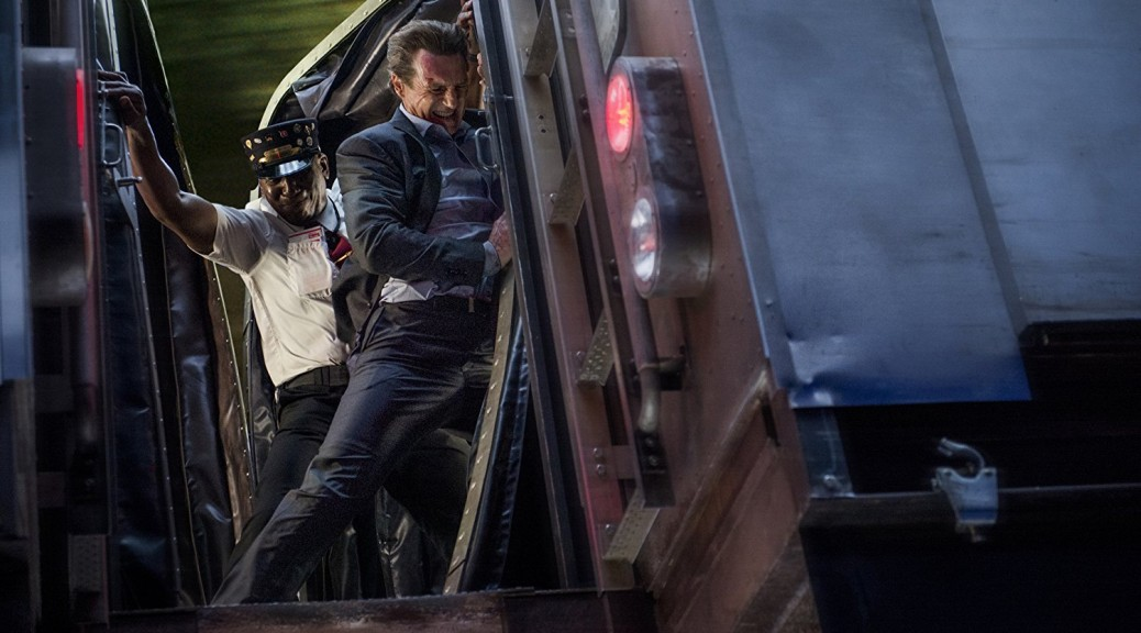Liam Neeson in The Commuter (photo -- Lionsgate)