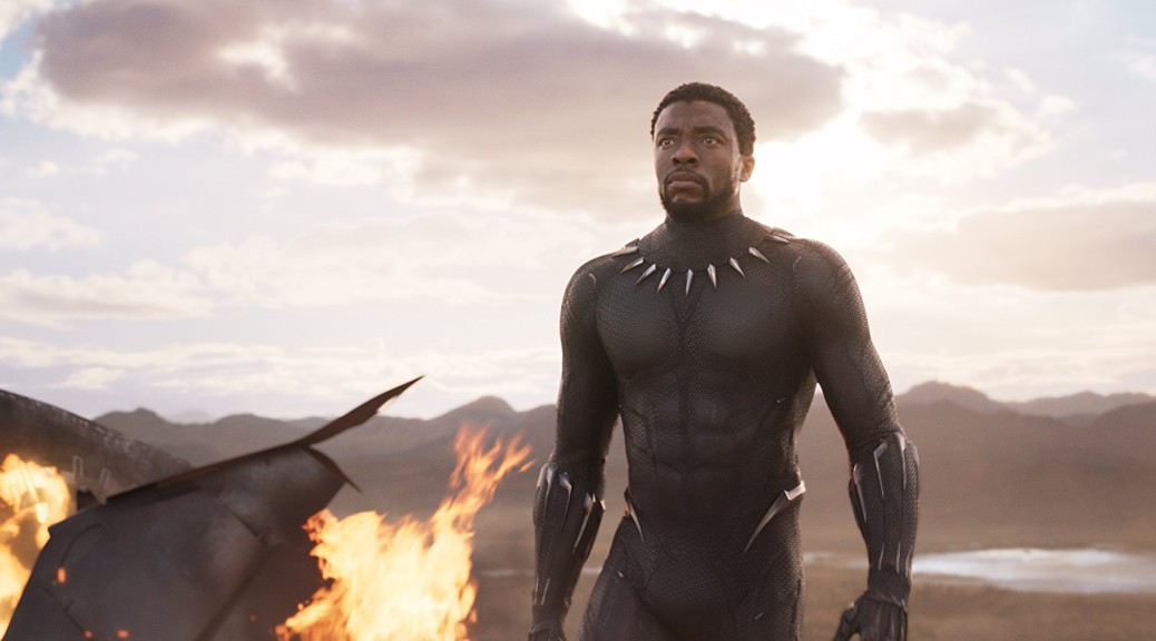Chadwick Boseman in 'Black Panther' (photo Disney Marvel)