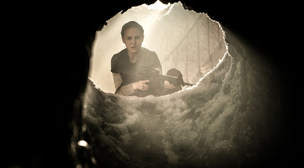 Natalie Portman in Annihilation (photo Paramount Pictures)